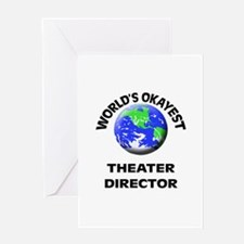 World's Okayest Theater Director Greeting Cards