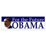 Obama For the Future bumper sticker