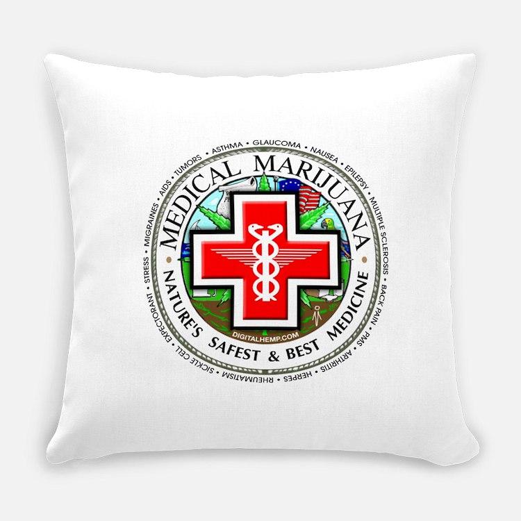 Cute Back logo Everyday Pillow