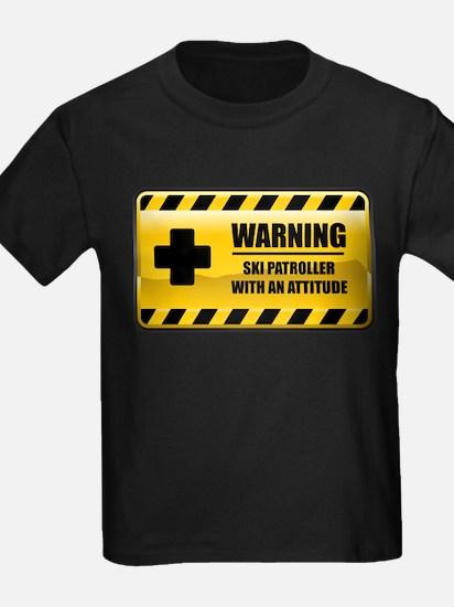 Warning Ski Patroller T