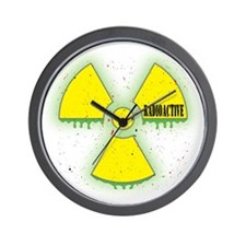 Radioactive Wall Clock
