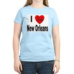 I Love New Orleans Women's Pink T-Shirt