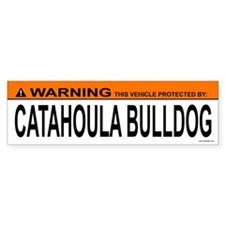 CATAHOULA BULLDOG Bumper Bumper Sticker