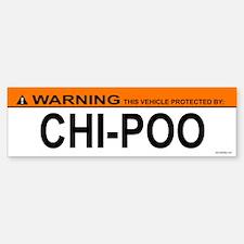 CHI-POO Bumper Bumper Bumper Sticker