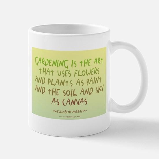 Flowers as Paint Mug