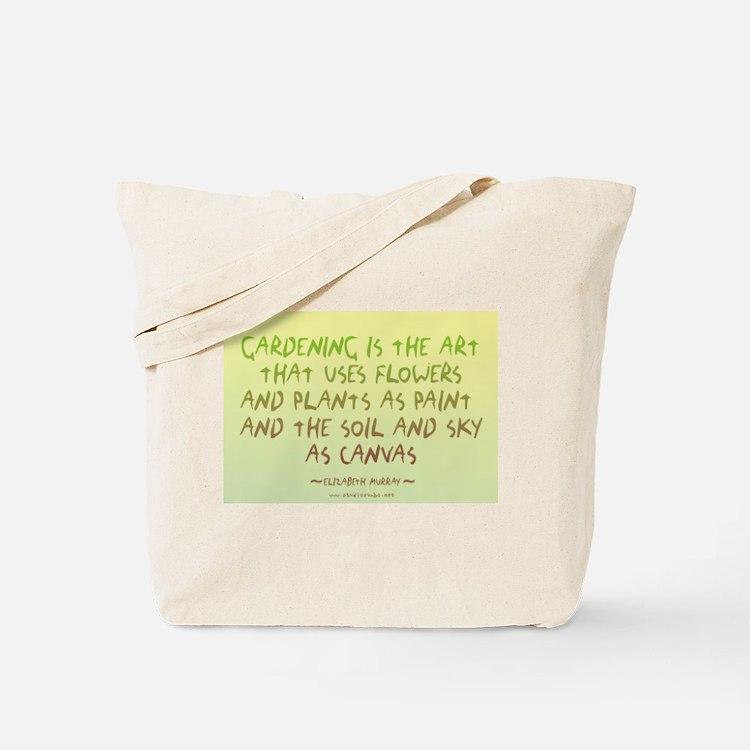Flowers as Paint Tote Bag