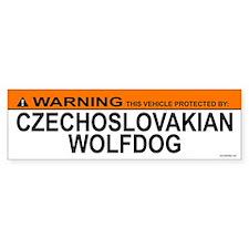CZECHOSLOVAKIAN WOLFDOG Bumper Bumper Sticker