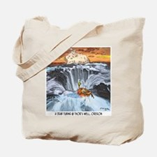 Tubing in Thor's Well Tote Bag