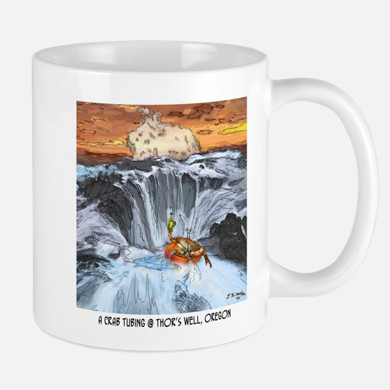 Tubing in Thor's Well Mugs