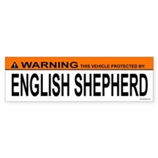 ENGLISH SHEPHERD Bumper Bumper Sticker