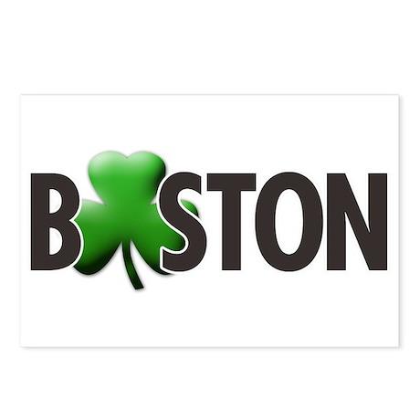 Boston (Shamrock O) - Postcards (Package of 8)