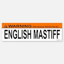 ENGLISH MASTIFF Bumper Bumper Bumper Sticker