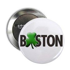 Boston (Shamrock O) - Button
