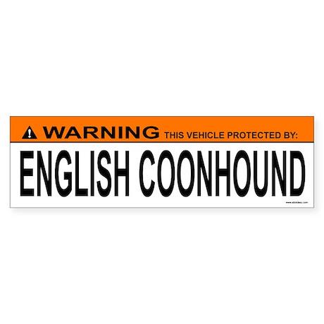 ENGLISH COONHOUND Bumper Sticker
