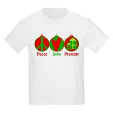 Peace, Love, Presents T-Shirt