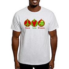 Peace, Love, Presents T-Shirt