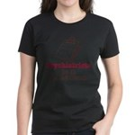 Funny Doctor Psychiatrist Women's Dark T-Shirt
