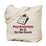Funny Doctor Psychiatrist Tote Bag