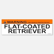 FLAT-COATED RETRIEVER Bumper Bumper Bumper Sticker