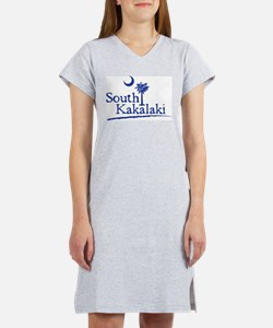 Cute Scuba flag Women's Nightshirt