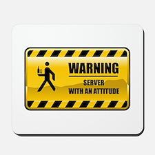 Warning Server Mousepad