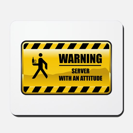 Warning Server Mousepad
