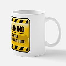 Warning Server Mug