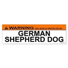 GERMAN SHEPHERD DOG Bumper Bumper Bumper Sticker