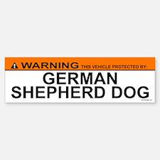 GERMAN SHEPHERD DOG Bumper Bumper Bumper Sticker