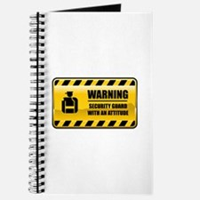 Warning Security Guard Journal