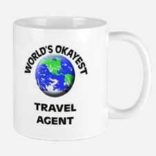 World's Okayest Travel Agent Mugs