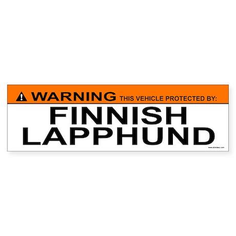 FINNISH LAPPHUND Bumper Sticker