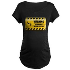 Warning Scuba Diver T-Shirt