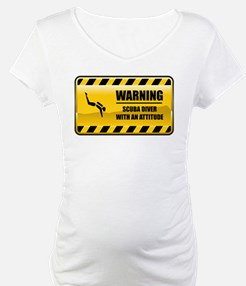 Warning Scuba Diver Shirt