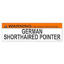 GERMAN SHORTHAIRED POINTER Bumper Bumper Sticker