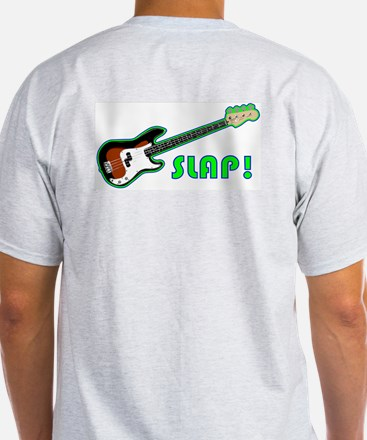 What did the 5 fingers say to the bass? --- SLAP!