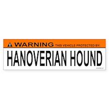 HANOVERIAN HOUND Bumper Bumper Sticker