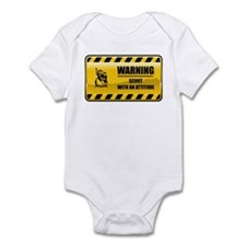Warning Scout Infant Bodysuit