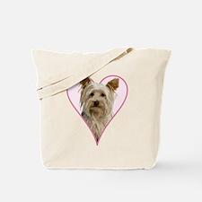 Heart Yorkie - Tote Bag