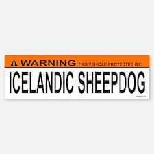 ICELANDIC SHEEPDOG Bumper Bumper Bumper Sticker
