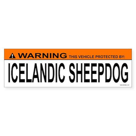 ICELANDIC SHEEPDOG Bumper Sticker