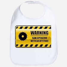 Warning Saw Operator Bib