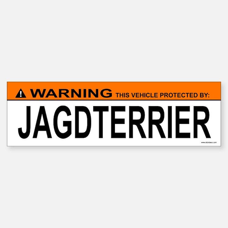 JAGDTERRIER Bumper Bumper Bumper Sticker