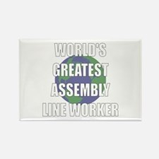 World's Greatest Assembly Lin Rectangle Magnet