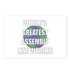 World's Greatest Assembly Lin Postcards (Package o