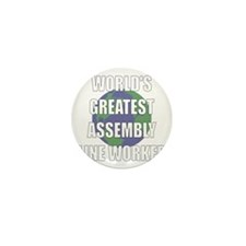 World's Greatest Assembly Lin Mini Button (100 pac