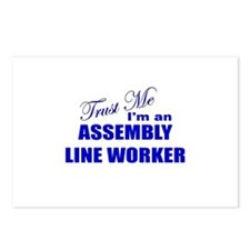Trust Me I'm an Assembly Line Postcards (Package o
