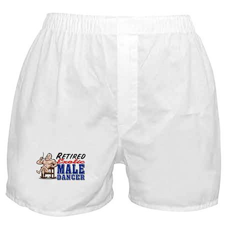RETIRED MALE DANCER Boxer Shorts