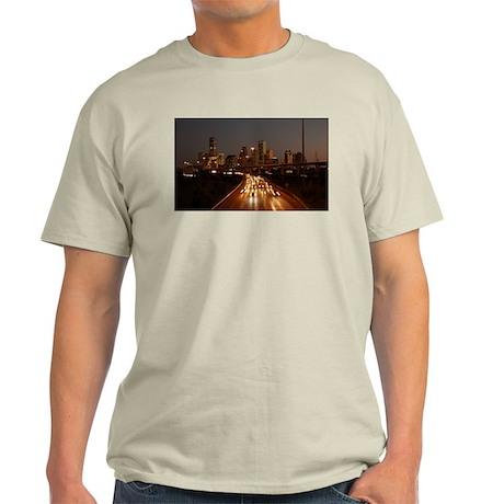 Houston Skyline Light T-Shirt