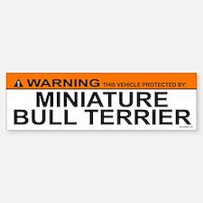 MINIATURE BULL TERRIER Bumper Bumper Bumper Sticker